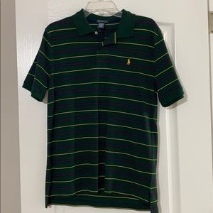 Ralph Lauren polo shirt striped size large NWOT